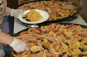 Fête Bonrepos sur Aussonnelle 2013 repas 27