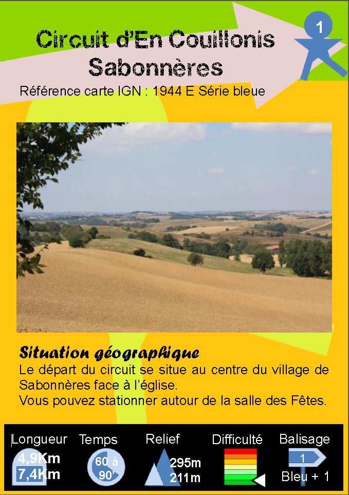 Sabonnères - Boucle 1