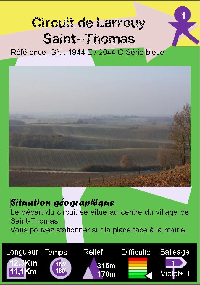 St Thomas - Boucle 1