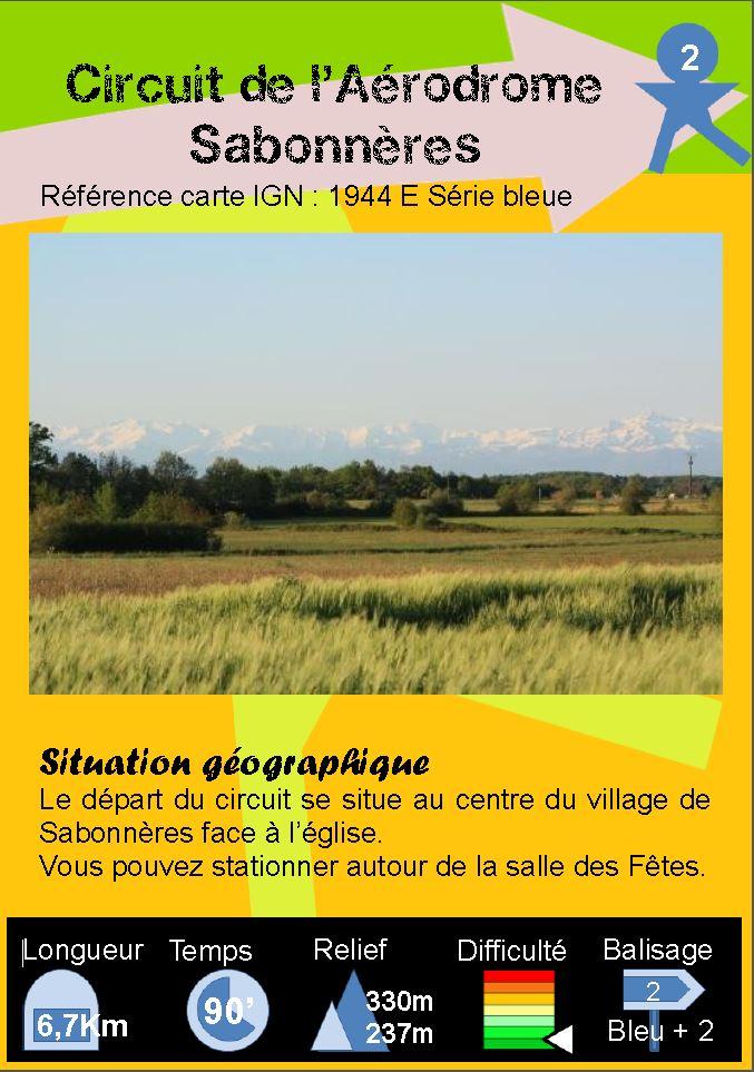Sabonnères - Boucle 2
