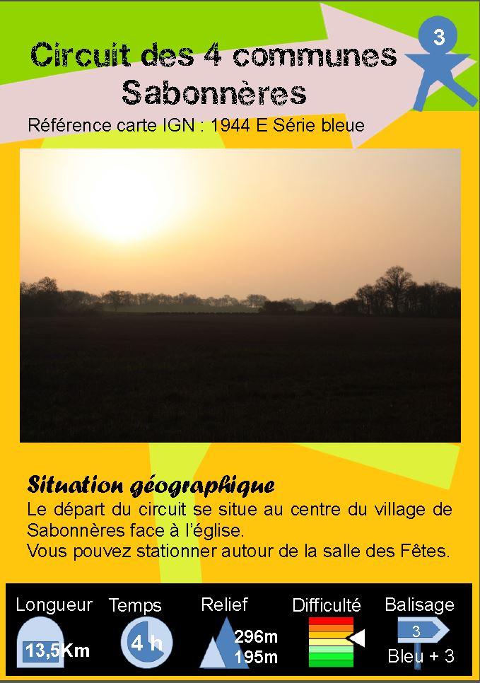 Sabonnères - Boucle 3